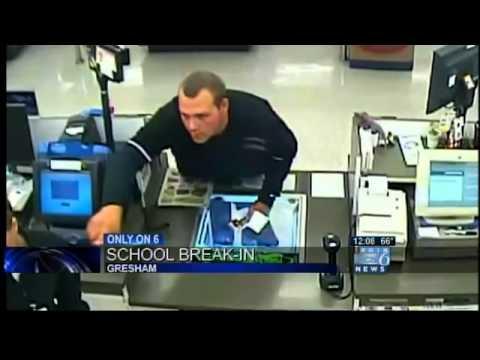 Suspect arrested in brazen Gresham school theft