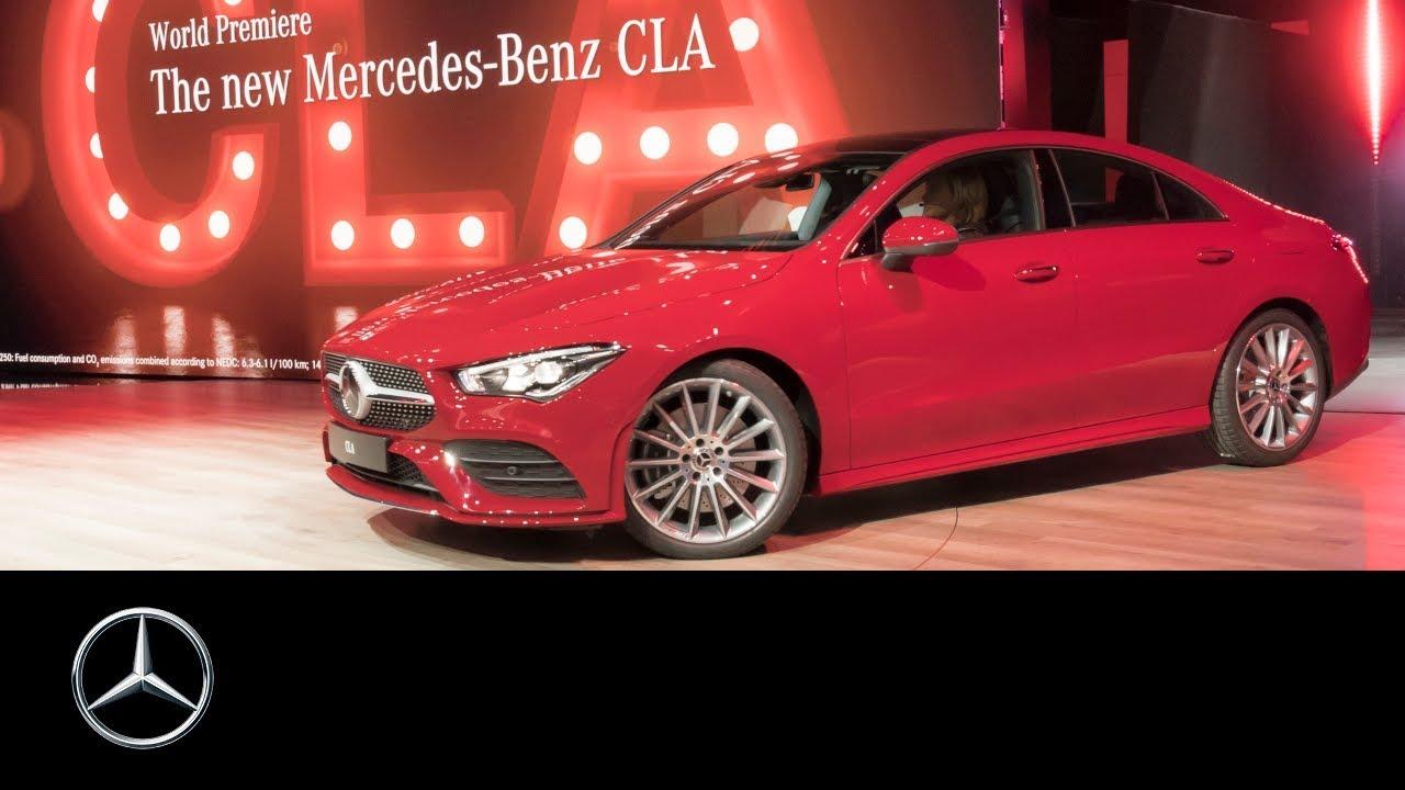 Mercedes Benz Cla Coupe 2019 World Premiere At Ces In Las Vegas