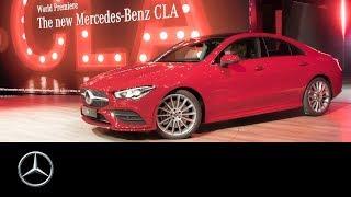 Mercedes-Benz CLA Coupé (2019) World Premiere at CES in Las Vegas | Re-Live