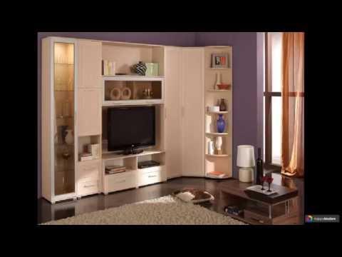 Угловые стенки для гостиной 21 вариант