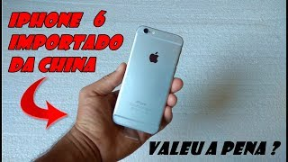 Comprei um Iphone 6 no Aliexpress - Unboxing
