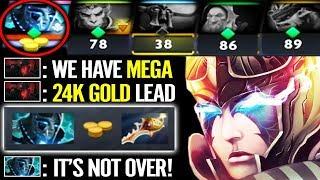 Last man Standing Defend MegaCreeps - Phantom Assassin Divine Comeback Dota 2 gameplay