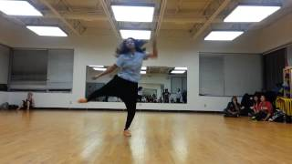"Omarion ""Touch"" Choreography by Cheyenne Gold"