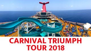 Carnival Triumph Tour and Review (2018)