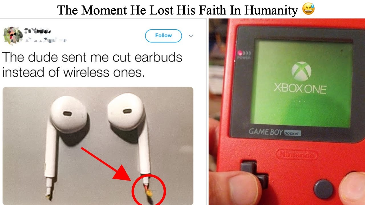 Distressed People Who've Lost Their Faith In Humanity