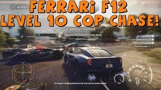 Need For Speed Rivals | Ferrari F12 | Crazy Level 10 Cop Chase! Xbox One | Part 47