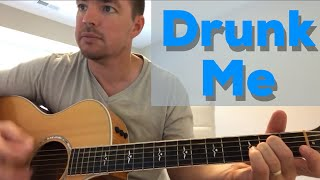 Drunk Me | Mitchell Tenpenny | Beginner Guitar Lesson Video