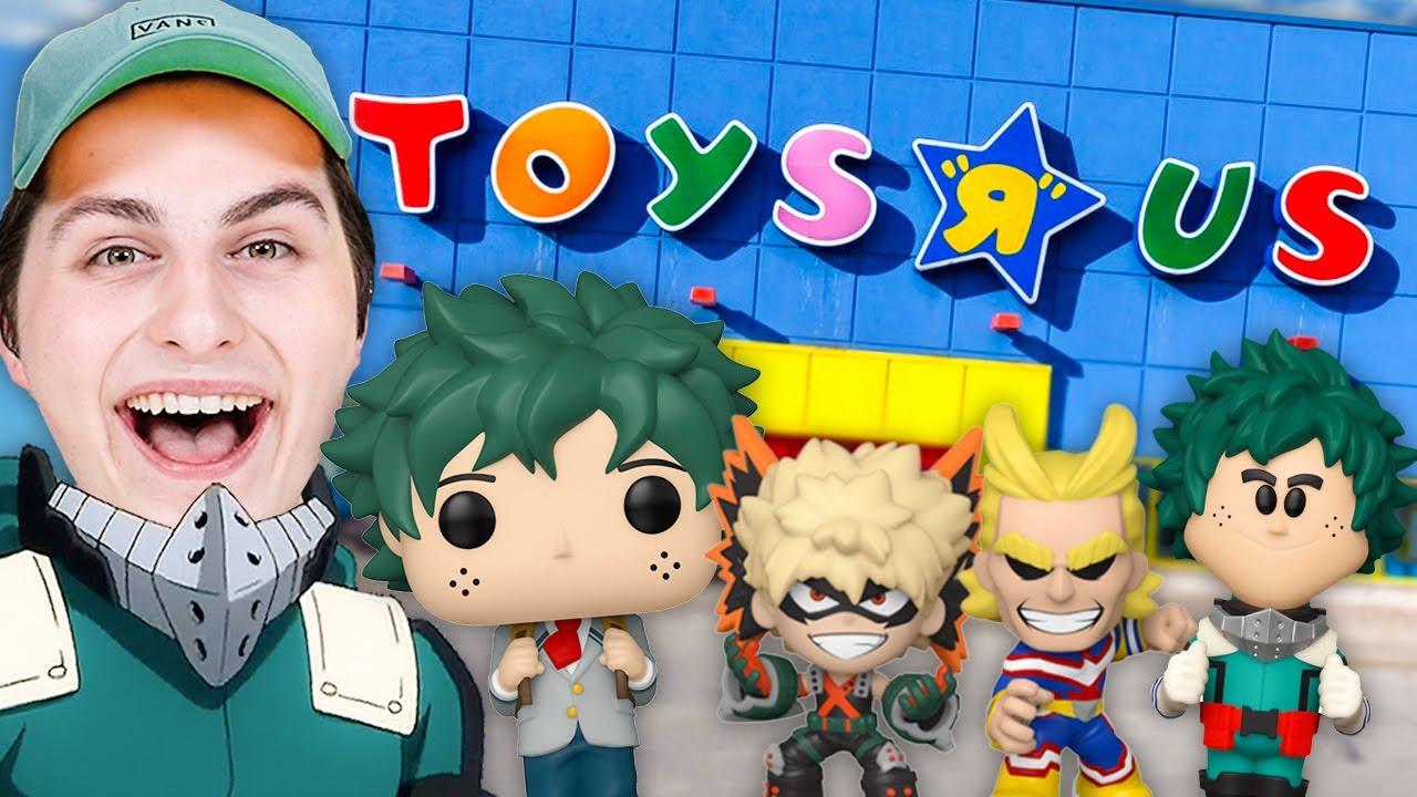 My Hero Academia Funko Pop Hunting At Toys R Us!