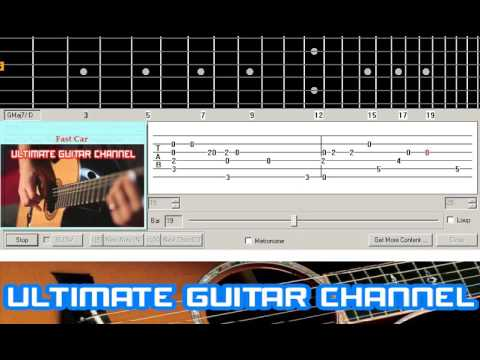 Guitar Solo Tab Fast Car Tracy Chapman YouTube - Tracy chapman fast car guitar