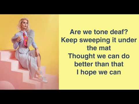 Katy Perry - Chained To The Rhythm (Lyrics) Ft. Skip Marley