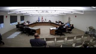 Town of Drumheller Regular Council Meeting April18, 2016