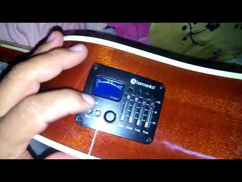 Violão folk GE30 harmonics