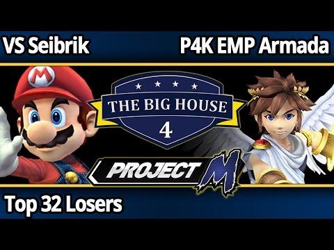TBH4 PM - VS Seibrik (Mario) vs P4K EMP Armada (Pit) - Top 32 Losers