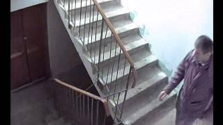 Видеонаблюдение в подъезде 27 апреля 2014(, 2014-04-27T21:14:35.000Z)