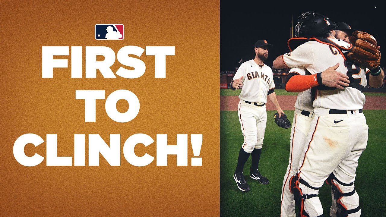 FIRST TO CLINCH! Giants lock down a Postseason spot with TONS of time left in season!