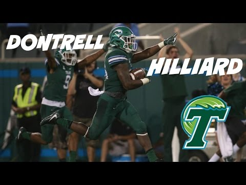 RB|| DONTRELL HILLIARD || TULANE || 2016 HIGHLIGHTS