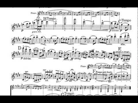 Salut D'amour, Op. 12 - Edward Elgar violin sheet music