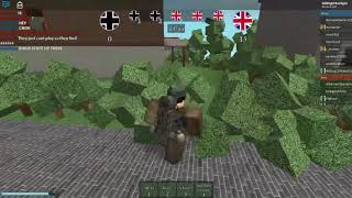 ROBLOX Frontline: West 44' Exploiter Footage No.1