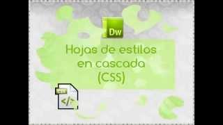 Hojas de estilo en cascada (CSS)