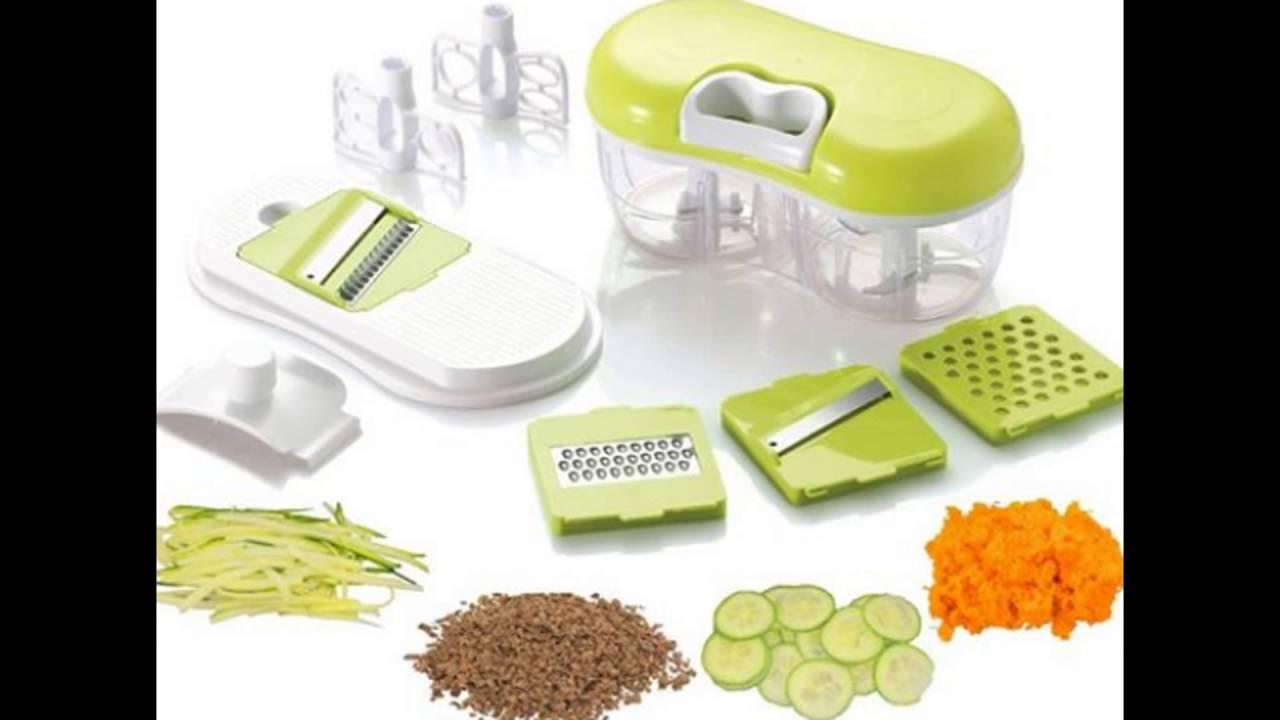 Briefton\'s Quick Pull Food Chopper, Blender, Grater & Slicer - YouTube