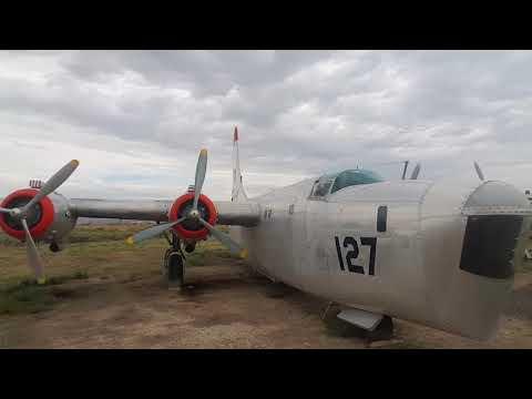 Airplane graveyard Wyoming