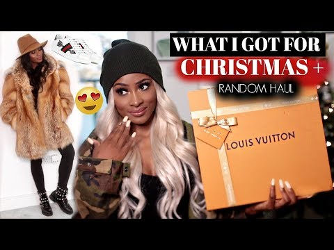A CHEEKY LUXURY & HIGH STREET WINTER HAUL + WHAT I GOT FOR CHRISTMAS 2017