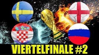 WM Tipps Viertelfinale Vorhersagen - Wett-Prognosen für England - Schweden / Russland - Kroatien
