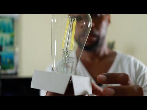 GOKU Vintage LED Filament Bulb Dimmable ST64 LED Edison Light Bulb 60W Equivalent