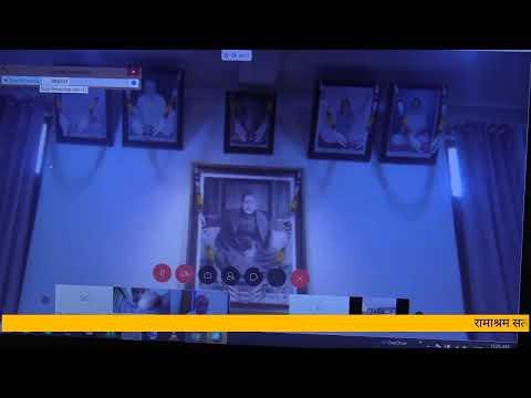 28th March 2020. Morning Meeting... Global Live Telecast...Ramashram Satsang, Mathura
