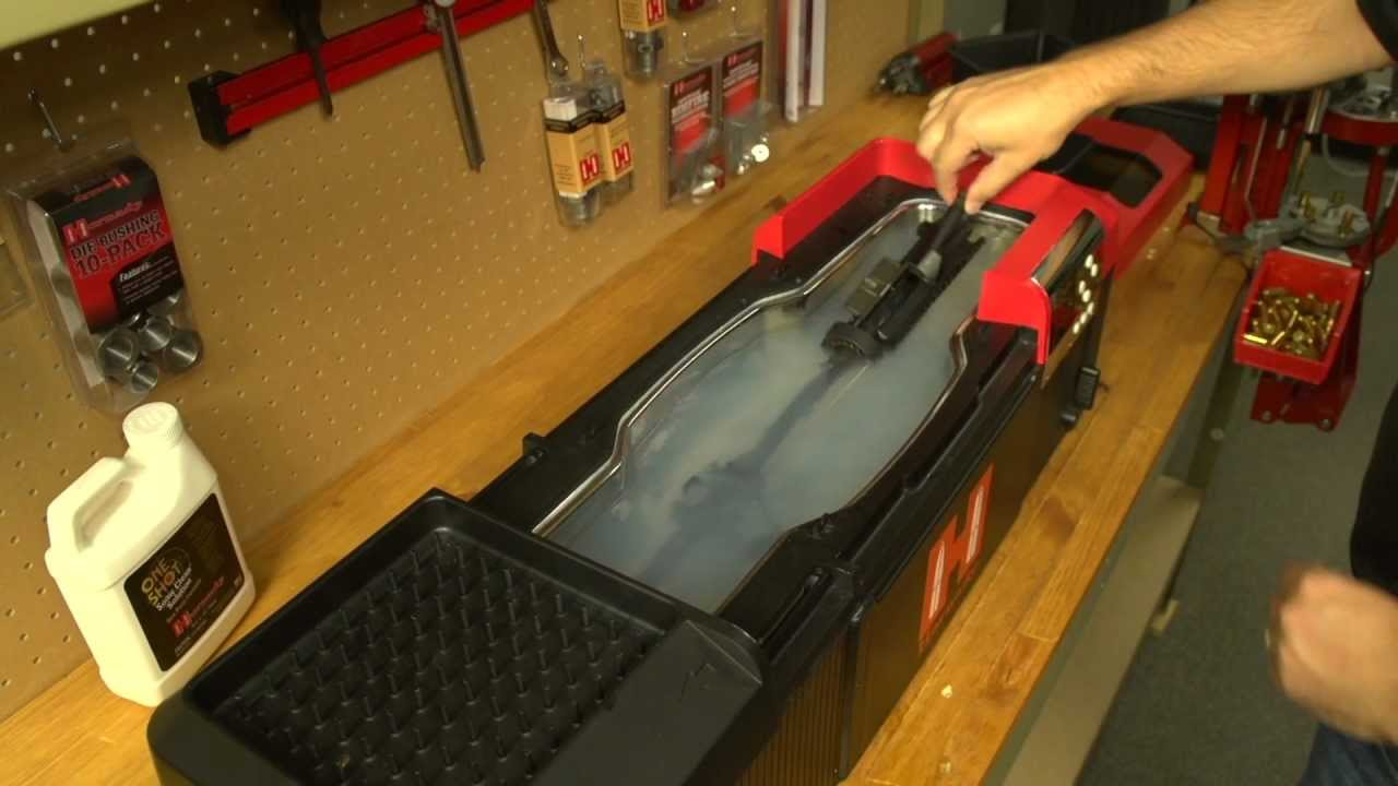 Hot Tub Sonic Cleaner™ from Hornady® - YouTube