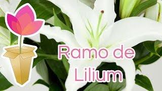 Cómo hacer un ramo de Lilium