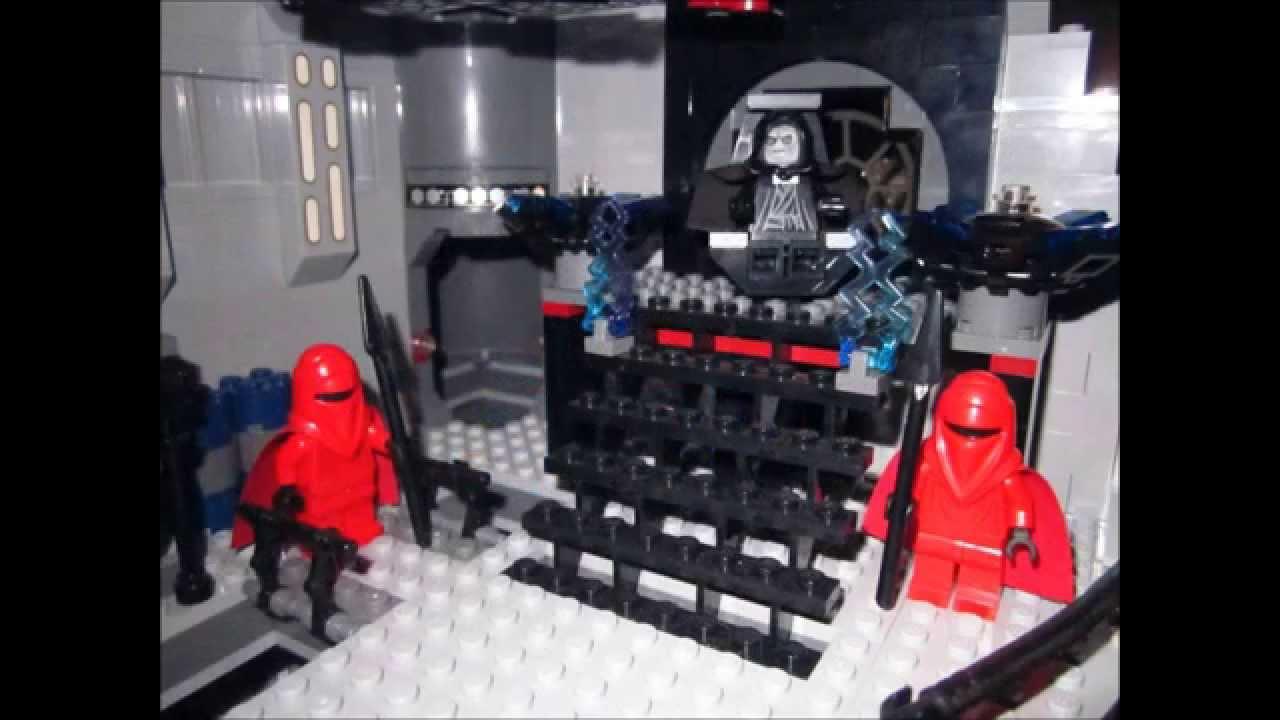 Star wars l 39 etoile noire mais en lego youtube - Etoile noire star wars ...