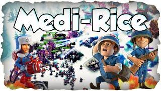 Das neue Mittagessen: Medi-Rice! | BOOM BEACH | Kryonierin + Schutzen + Sanitater Angriff! (Deutsch)