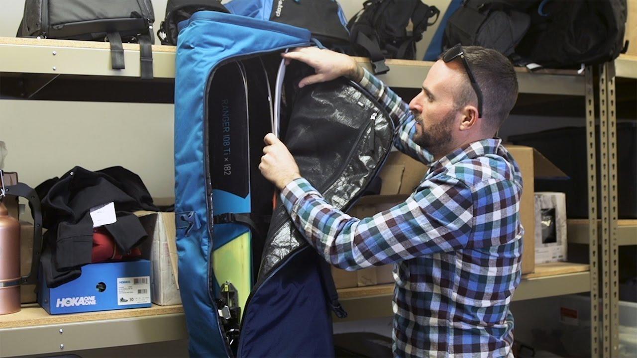 First Impressions  Thule RoundTrip Ski Bag - YouTube 768033209ed53