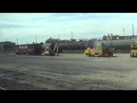 riding Albuquerque Rail Runner from Albuquerque to belen station 2015-10-17