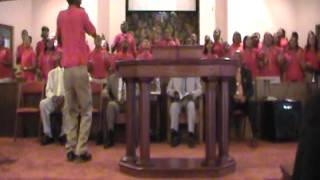 Brown Baptist Youth Choir singing Said I Wasn