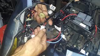 vario 150 electrik leveling  retrofit plastik