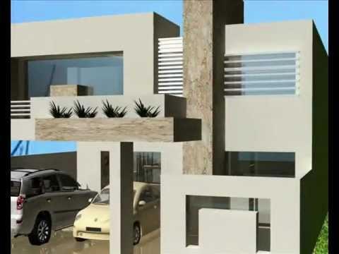 Desarrollo residencial europa monte magno youtube for Casas contemporaneas modernas