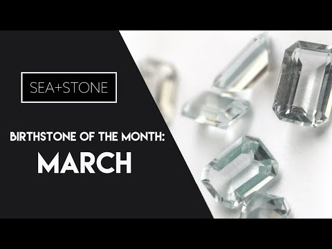 March Birthstone - Aquamarine & Bloodstone (No Sound)
