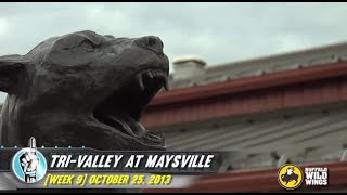 HS Football: Tri-Valley at Maysville (10/25/13)