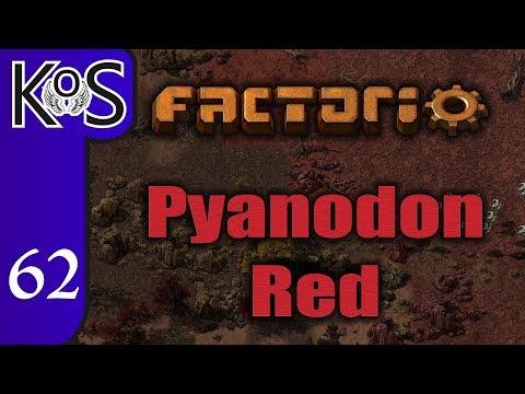 Factorio Pyanodon Red Ep 62: KIMBERLITE CHAIN UPGRADE - 0.16 - Gameplay, Let's Play