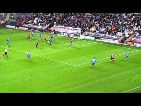 Sam Johnstone great saves v Bradford City