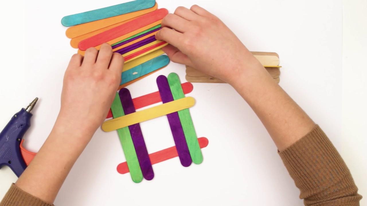 Hobi Çubuklarından Nasıl Masa Yapılır
