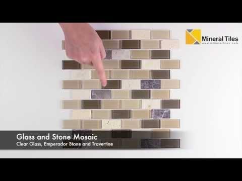 Peel and Stick Rome Glass Mosaic Tile - 101CHIGLABPER5120PS