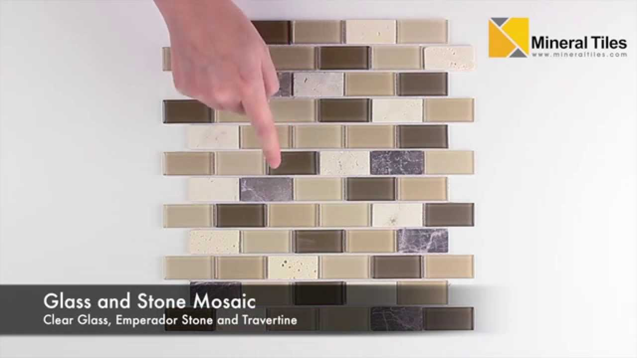 Peel and Stick Rome Glass Mosaic Tile