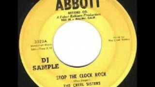 The Creel Sisters - Stop The Clock Rock