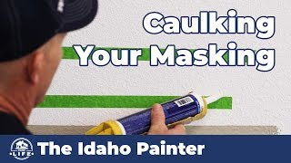 When to Remove Your Caulked Masking Tape?  Painting HACK