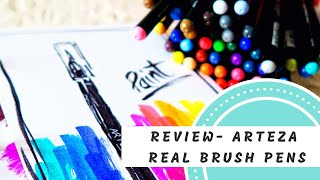 Product Review- Arteza 48 Real Brush Pens