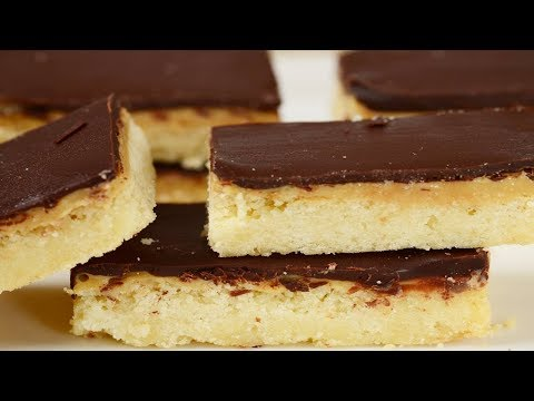 Millionaire Shortbread Bars Recipe Demonstration - Joyofbaking.com