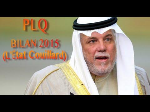 PLQ   BILAN 2015 (L'État Couillard)